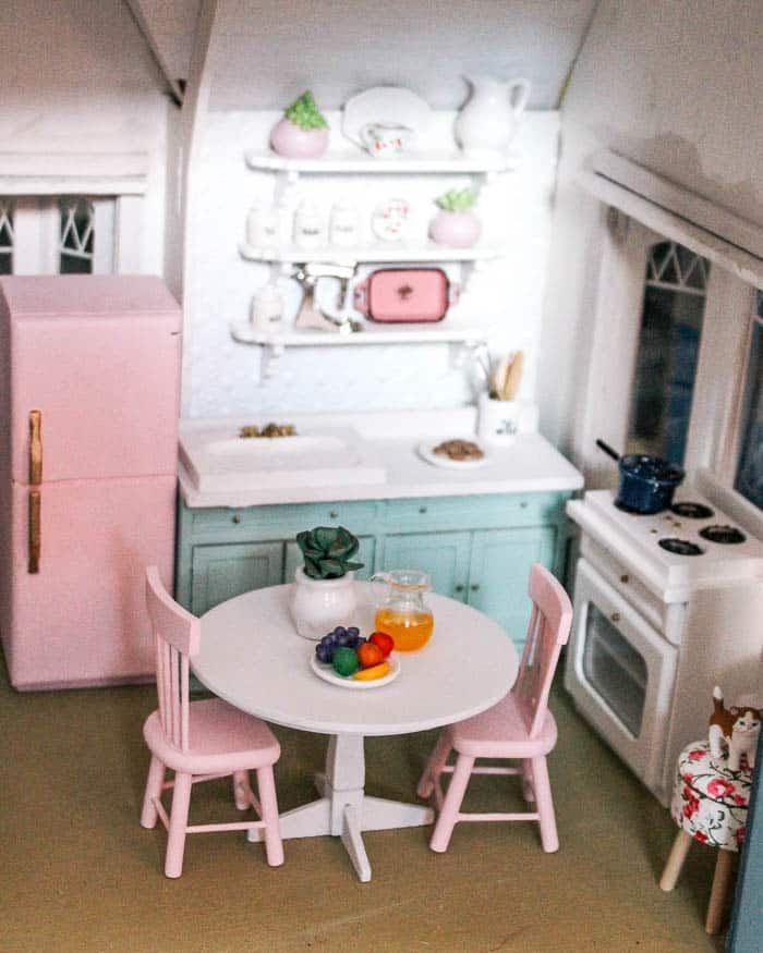 Dollhouse Flooring Installation: At Home With Ashley