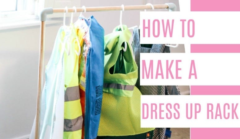 Diy Dress Up Rack At Home With Ashley