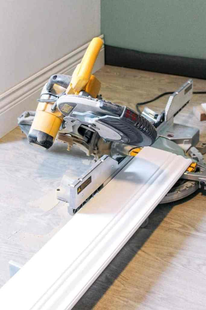 how to install baseboards. A DIY video tutorial with simple tips for installing tall white trim the easy way. Step by step instructions for putting in base board millwork