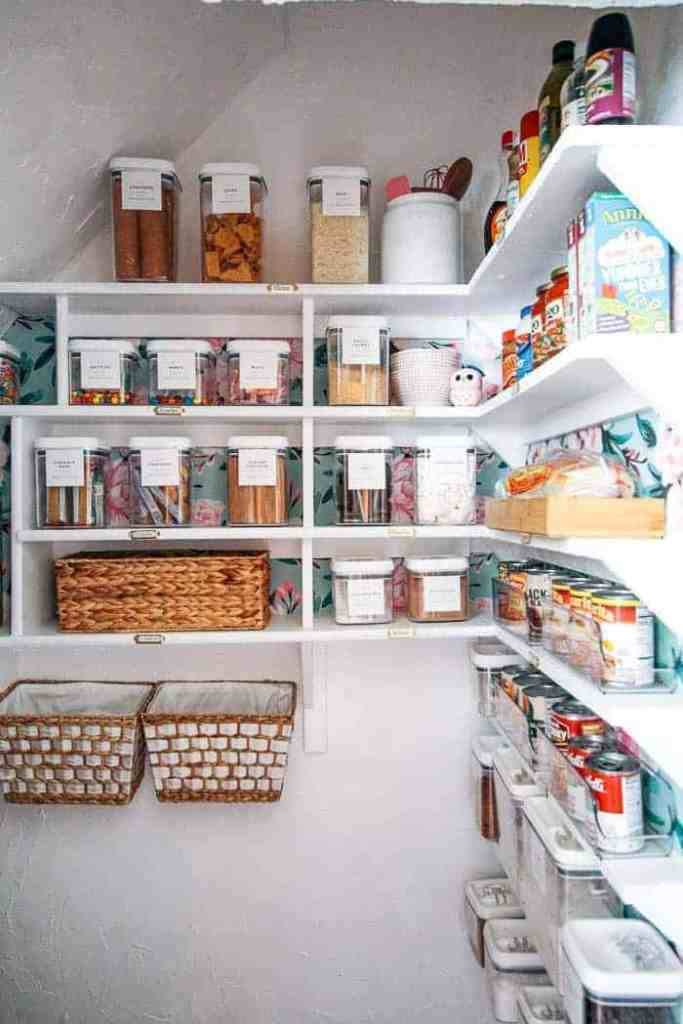 How to Organize your Pantry - at home with Ashley Kitchen Closet Pantry Ideas Steps Html on kitchen with walk-in pantry, kitchen doorway ideas, kitchen design, kitchen corner pantry, kitchen great room ideas, kitchen dry bar ideas, kitchen breakfast bar ideas, kitchen pantry armoire, kitchen snack bar ideas, kitchen desk ideas, kitchen eating area ideas, kitchen gas stove ideas, kitchen pantry furniture, kitchen cabinets, kitchen microwave ideas, kitchen pantry and laundry room, fancy coral kitchen ideas, kitchen tray ceiling ideas, kitchen dining area ideas,