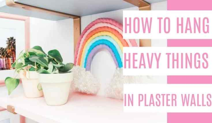 Colorful Shelves DIY
