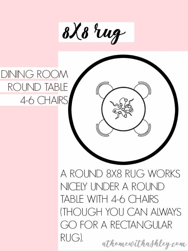 Rug Size Guide - at home with Ashley