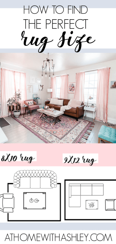 Rug Size Guide At Home With Ashley