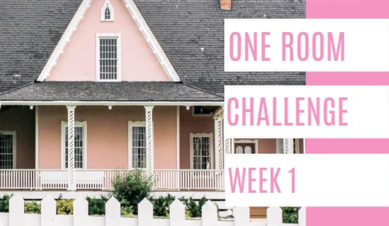 One Room Challenge- 1