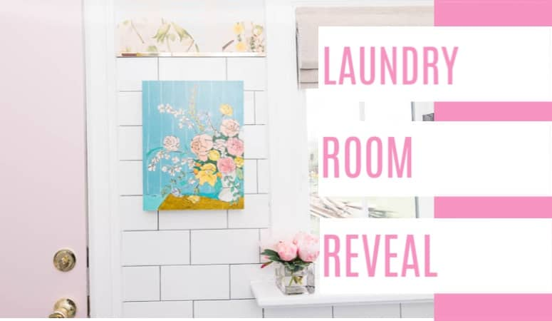 One Room Challenge- Laundry Room Reveal