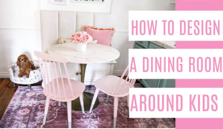 How To Design A Dining Room Around Kids At Home With Ashley