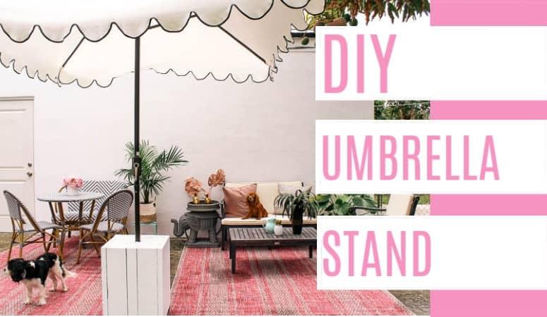 DIY Umbrella Stand