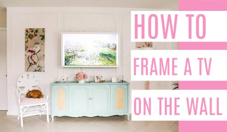 How to Frame a TV on the Wall