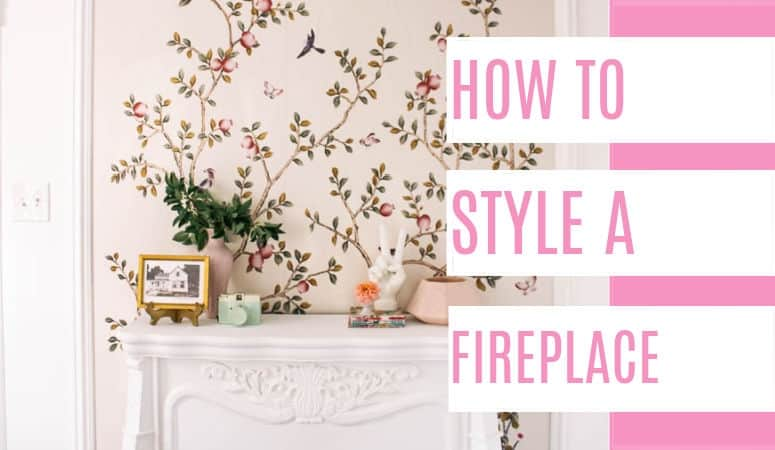 How to Style a Fireplace Mantle