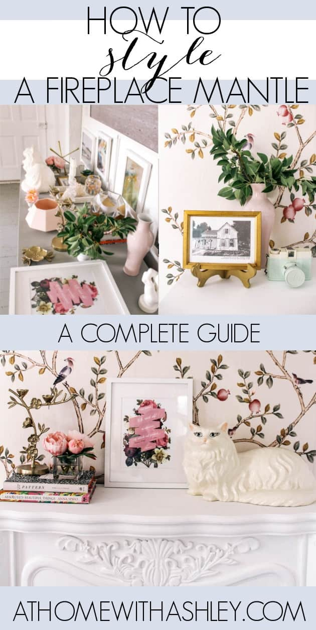 how to style a fireplace mantle. How to decorate a hearth and create a focal point- the best tips. Ideas on how to make a statement through accessories. Lots of examples so you are inspired.