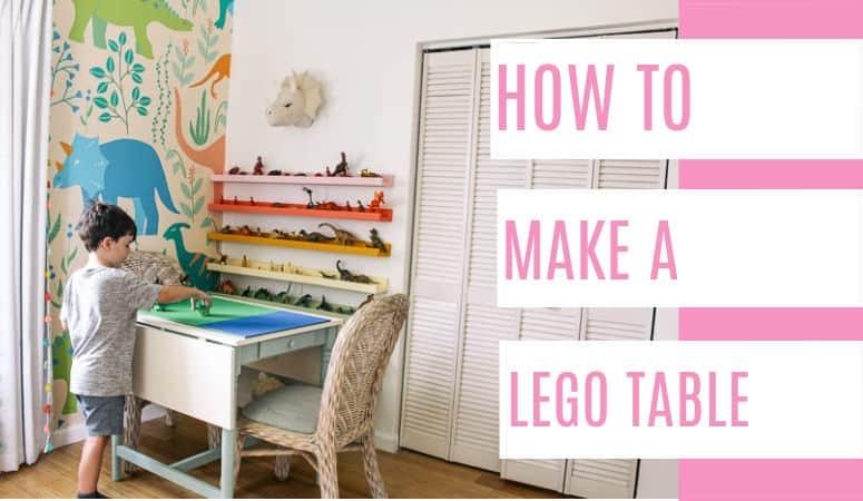 DIY Lego Table- IKEA Hack