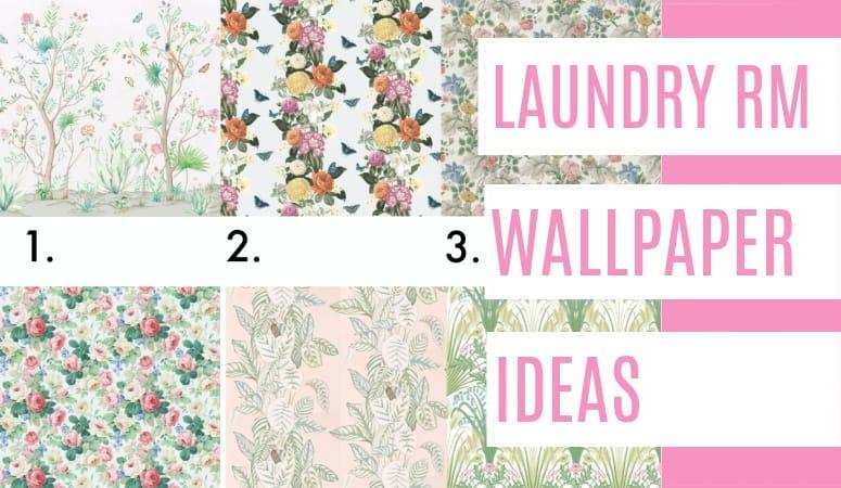 Laundry Room Wallpaper Ideas