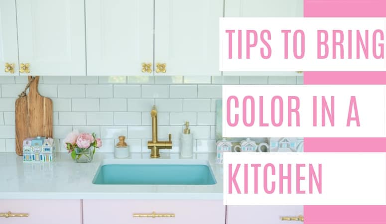 10 Tips for Bringing Color to your Kitchen