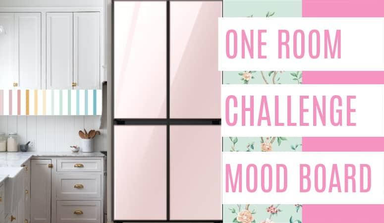 One Room Challenge Kitchen Mood Board