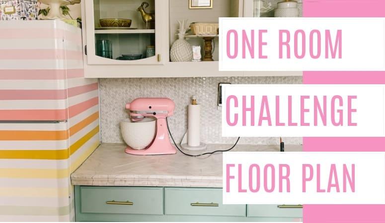 One Room Challenge Week 1- Floor Plan