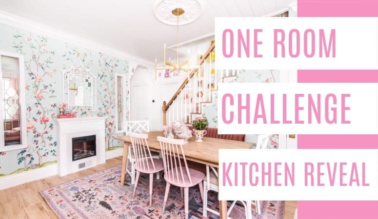 One Room Challenge Kitchen Reveal