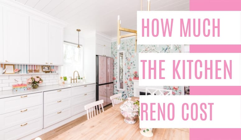 One Room Challenge Kitchen Renovation Costs