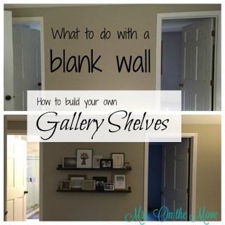 How to build your own Gallery Shelves