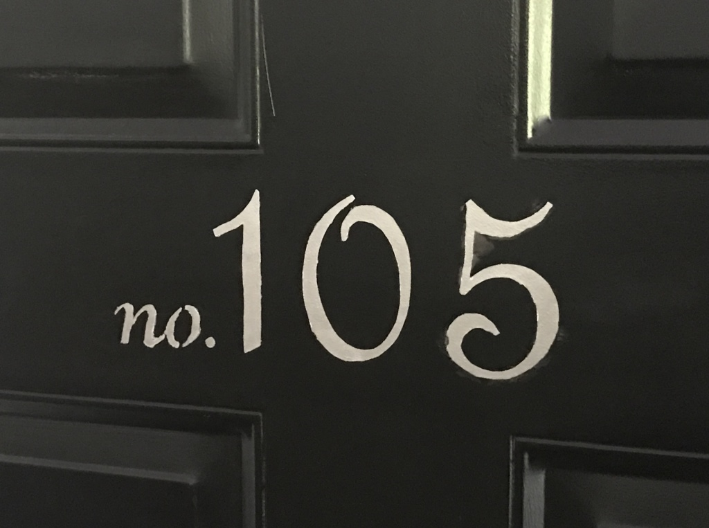 house number stencil