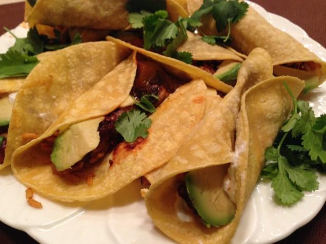 Veggie Tacos & Chipotle Sauce (Mexican Fiesta)