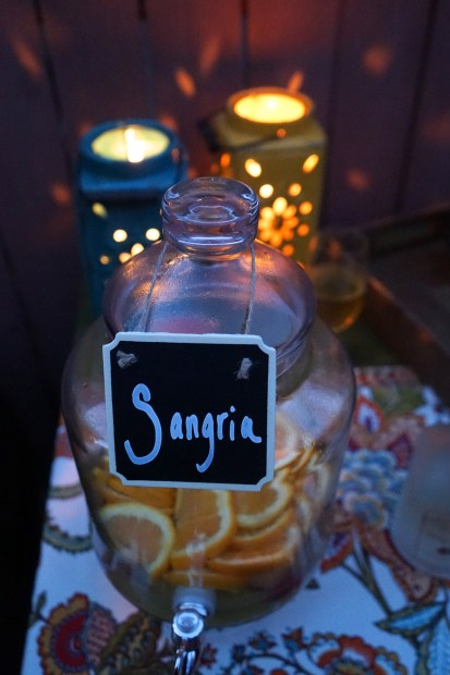 Summer Solstice: Solstice Sangria and the Bar