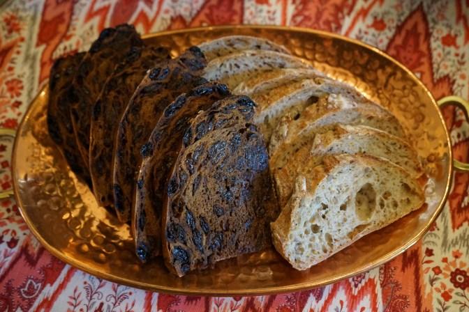 Raisin and Rye Loafs