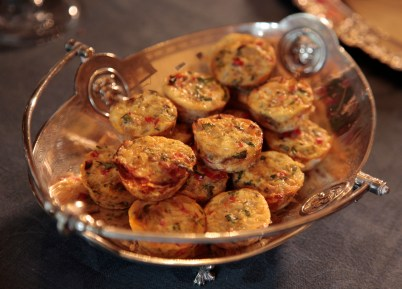 The Mini Veggie Frittatas were one-bite wonders: tasty, satisfying and oh, healthy and gluten free.