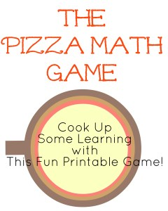 A fun printable math game to help PreK/K students with counting, addition and subtraction.