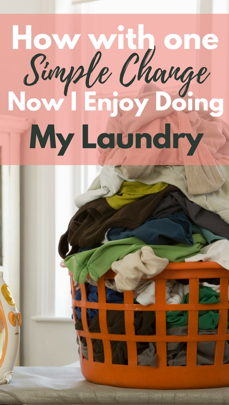 How To FINALLY Enjoy Doing The Laundry. I hate to do the laundry, and I avoid it at all costs. This is a great idea for helping to motivate me to do at least one load of laundry a day!