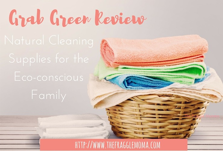 Grab Green Review: Natural Cleaning Supplies for the Eco-conscious Family