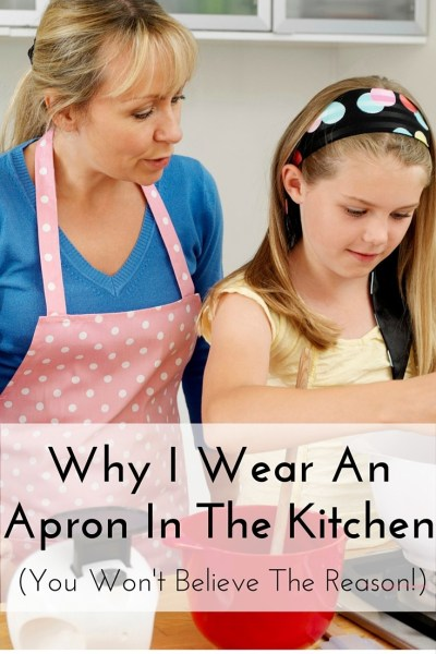 This girl has some really good points. This is far from what I expected when I opened the pin! I thought she was going to be a food blogger. Now I want an apron!