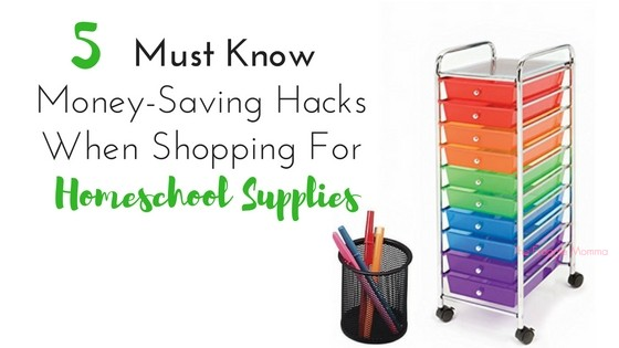 5 must know hacks for saving money on school supplies