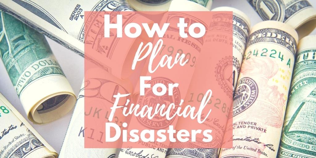 Financial Disaster Plan
