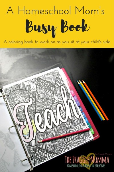 A Coloring book for homeschool moms! Awesomesauce! I am so excited about this one. I can not wait to download this. I love to color beside my kids when we are working on math or something that I generally need to be right there for.