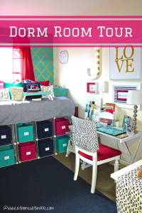 College Dorm Room Tour & Organization | At Home With Nikki
