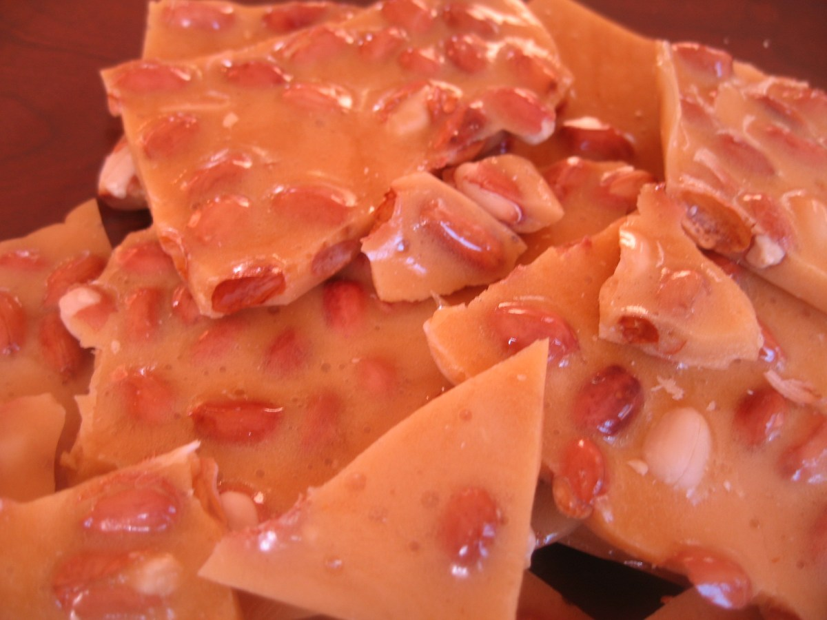 Habanero Honey Peanut Brittle