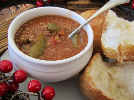 Fall Favorite Recipes: Stuffed Pepper Stew