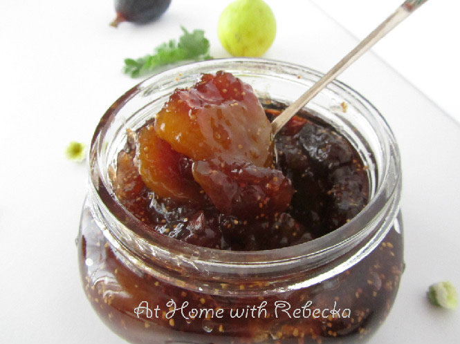 Canning Fig Preserves