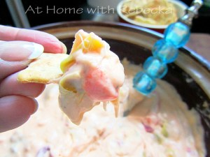 Hot Artichoke and Pimento Cheese Dip