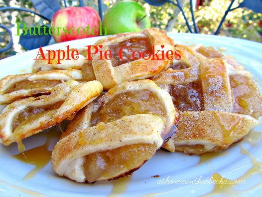Butterscotch Apple Pie Cookies - the best fall cookie recipe!