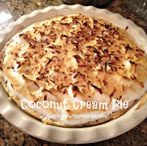 Emeril Lagasse's coconut cream pie recipe is a creamy, delicious coconut custard pie with a flaky crust. With toasted coconut on top, this is perfect pie!