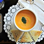 Carrot ginger soup is delicious, made with sweet carrots and fresh ginger. Its bright color and taste make this soup recipe the perfect start to any meal.