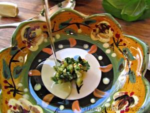 Copycat Recipe-Carrabba's Basil Dipping Sauce