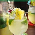 Homemade Pineapple Limeade