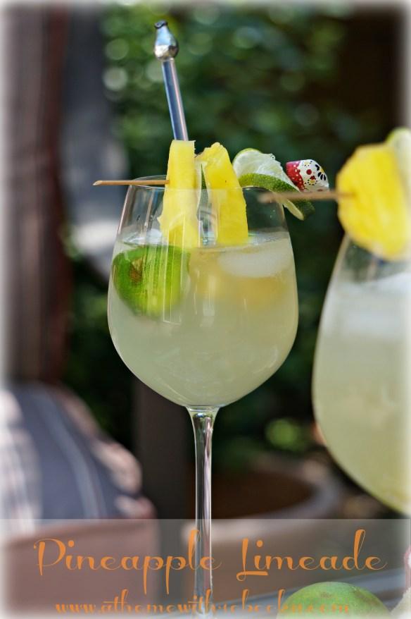 Refreshing Pineapple Limeade