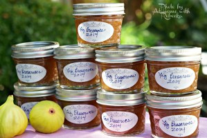 Canning Fig Preserves with 80 Proof Spirits
