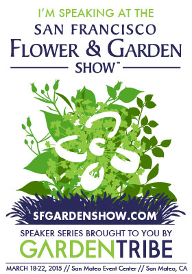 I'm Speaking at the San Francisco Flower and Garden Show – Making Heirloom Jams with Garden Petals