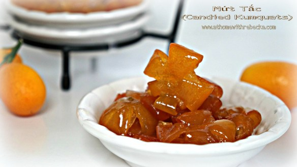 Mứt Tắc , also known as Vietnamese Candied Kumquats