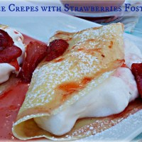 Meringue Crepes and an Interactive Dinner Party - Recipe Redress