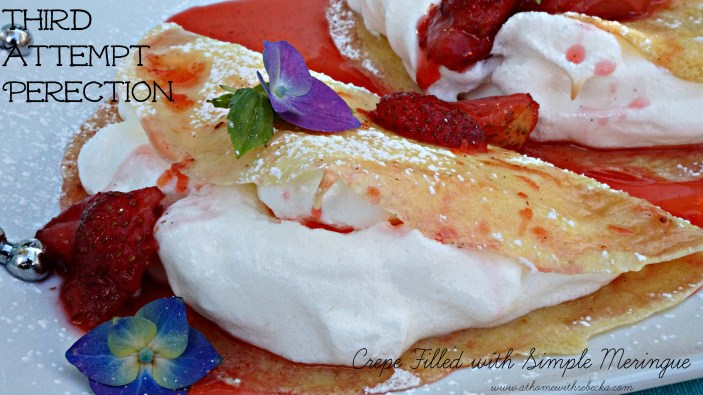 Meringue Crepes Perfection